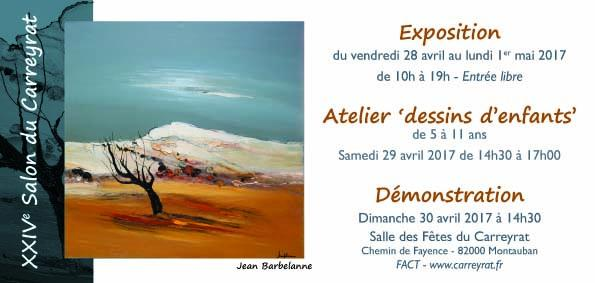 Actualité de francine D'oliveira Rezende artiste peintre Salon du Carreyrat