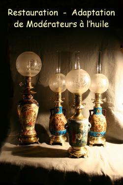 Restauration de lampes