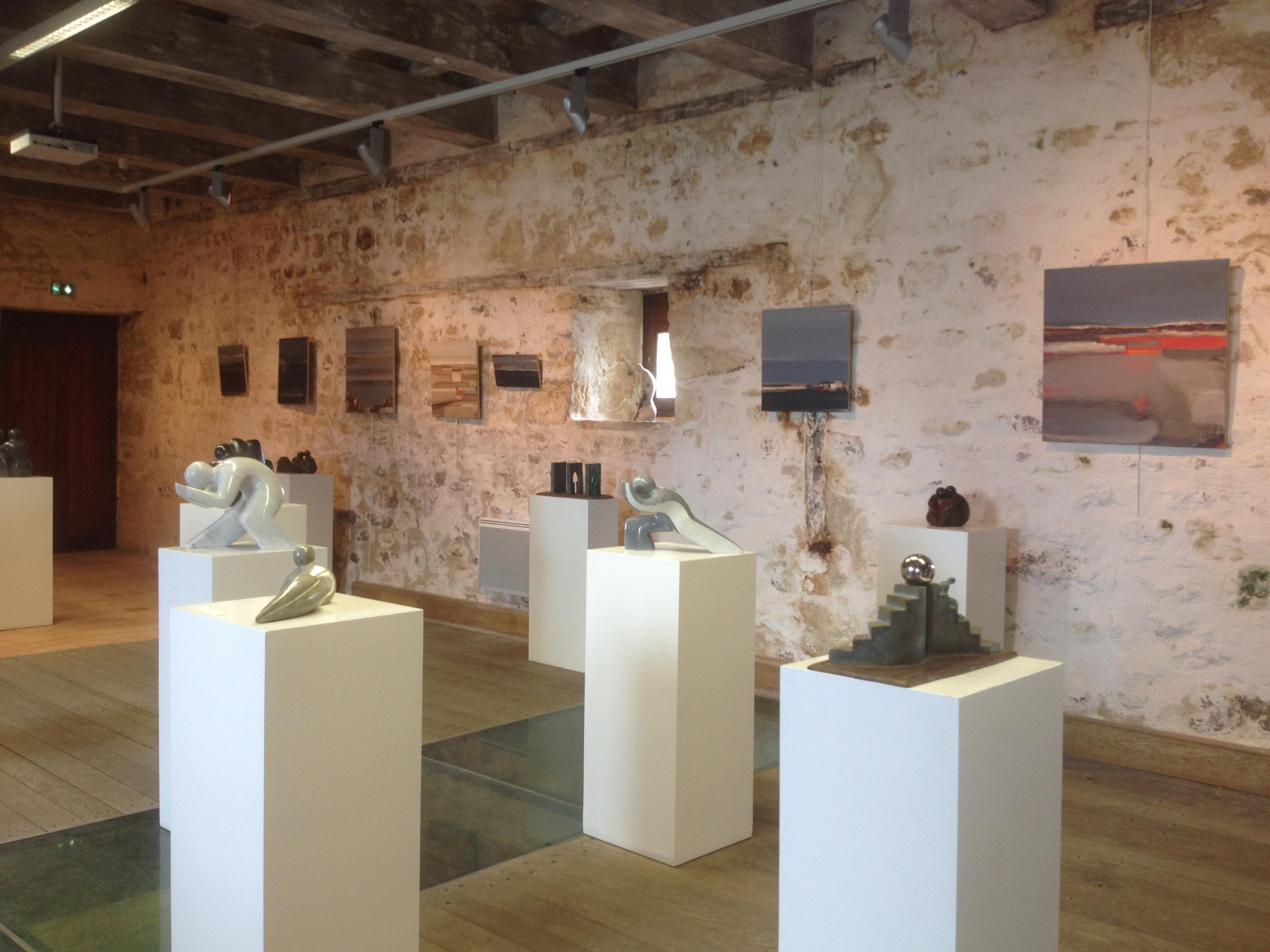 Actualité de Claudine Brusorio portes ouvertes de l'atelier