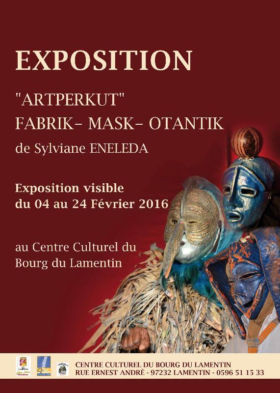 Actualité de Sylviane  Enéléda artisant d'art Expo 'ARTPERKUT' de Sylviane Enéléda