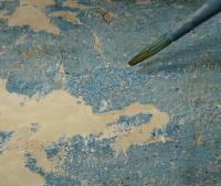Actualité de Martine Rieg Sezer, Formatrice professionnelle Les polychromies sur bois à la détrempe et leur restauration