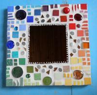 stage de mosaïque dans l'atelier ,  Maffone Odile