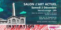 Actualité de pascal bidot graphiste décorateur plasticien Salon des créateurs de Chazelles sur Lyon