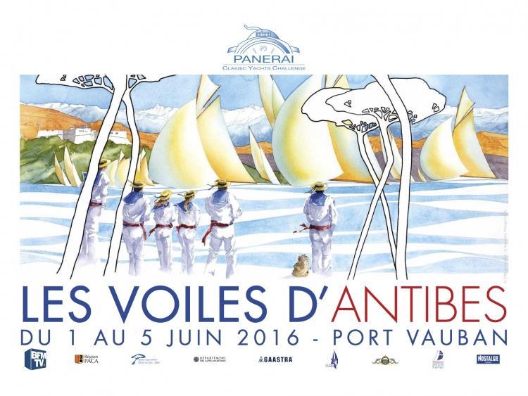 Actualit� de Bernard FONTAINE FB-maquettes Les Voiles d'Antibes - du 1 au 5 Juin 2016.