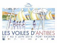 Les Voiles d'Antibes - du 1 au 5 Juin 2016. , Bernard FONTAINE FB-maquettes