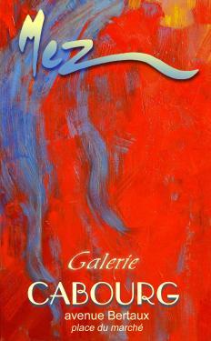 affiche - détail rouge MEZ Cabourg