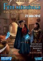 F�te M�di�vale Fantastique et F��rique , ariane chaumeil Ar'Bords Essences - A la Guilde du Dragon de Verre