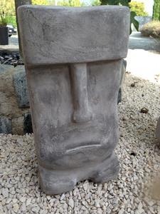 Tiki Gum Gum gris : 50 cm de haut Port : me consulter