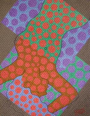 description Alkyd sur toile 114/146cm. Exposée ART EN CAPITOL 2010