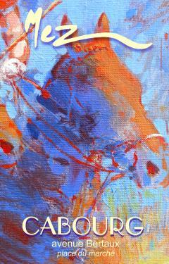 affiche - polo détail 1 MEZ Cabourg