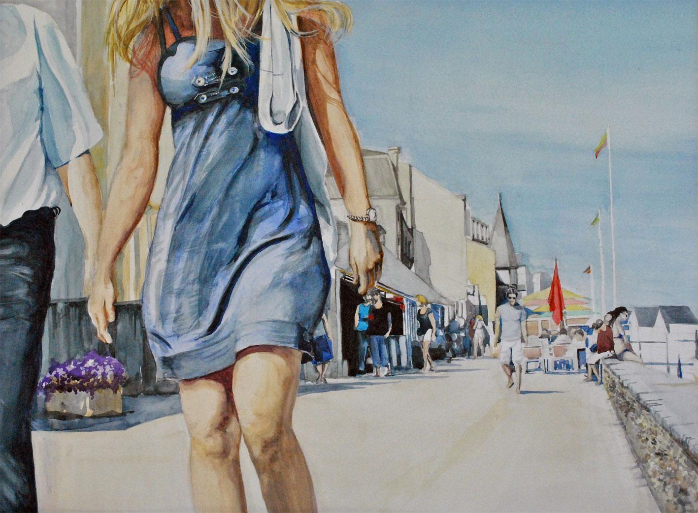 Actualit� de Fran�ois KUNZE Peintre aquarelliste Salon des Artistes Ind�pendants Normands