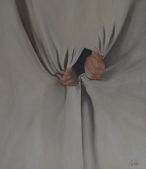 Huile sur toile 70x60 cm: Découverte.