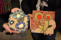 Actualité de Carol Lamglait  - Atelier TESSELLES ET MOSAIQUES Stage d'Initiation à la Mosaïque