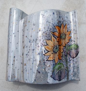 Vase Drapeau Lustre Technique Moderne