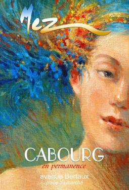 affiche - visage MEZ Cabourg