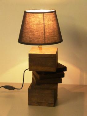 Lampe de travers