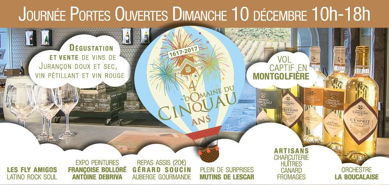Actualité de Françoise Bolloré Journée Portes ouvertes au Domaine de Cinquau