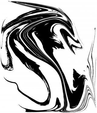 LE FURET.Transfiguration d'après le tableau sur bois - cires naturelles pigmentées - intitulée