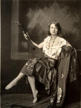 une joueuse de Mandoline Banjo