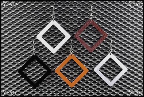 Bijoux aluminium N°103 Plusieurs couleurs disponibles