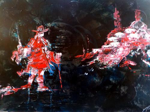 le retour du roi (70x50 cm)