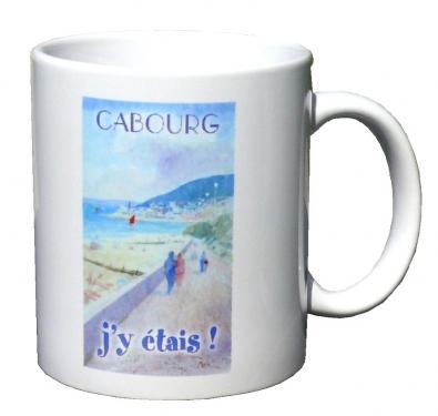 mug MEZ - Cabourg, promenade Proust