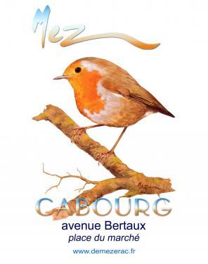 affiche - rouge-g profil MEZ Cabourg
