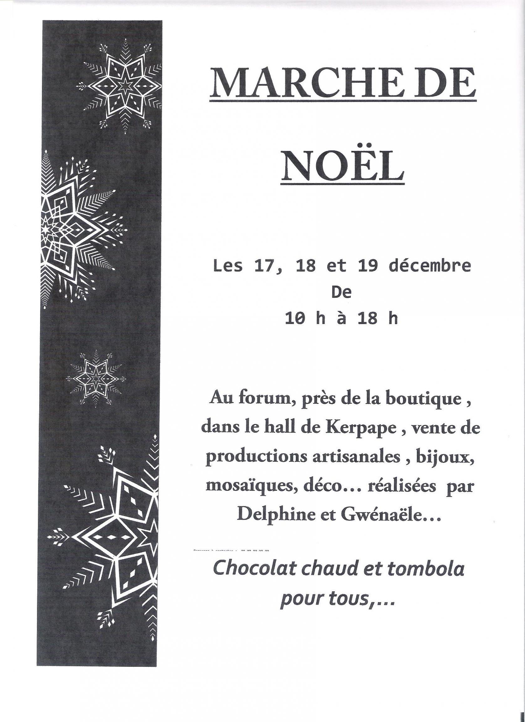 Actualité de gwenaele le doussal passionmozaik Marché de Noël