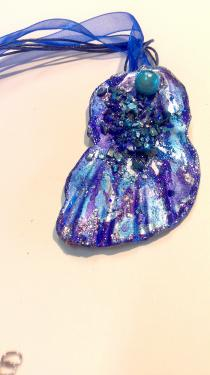 Des couleurs bleu profond mer caraïbe Référence B6