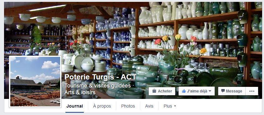 Actualité de Atelier céramique Turgis