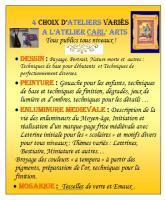 Actualité de catherine carlier atelier carl arts