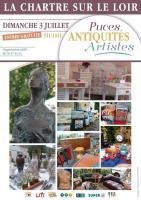 Puces, Antiquités, Artistes , Agogué Dominique