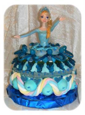 Reine des neiges - véritable poupée Elsa