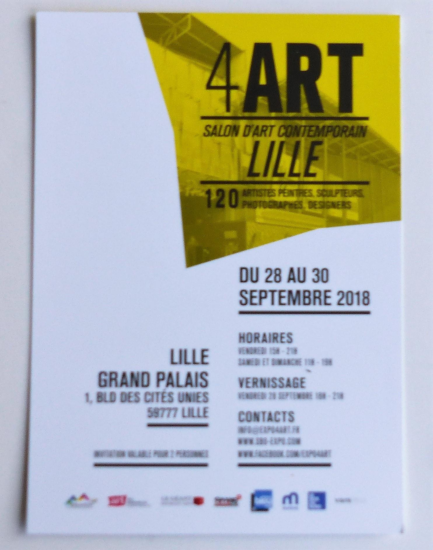 Actualité de  PIERRE PROMELLE 4 ART Salon d'Art Contemporain