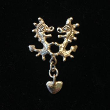 pendentif dragons en argent massif livré avec chaine en argent massif hauteur 4cm