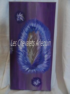 le Chardon et les chardonnerets  (février 2012.2013)(40X20)