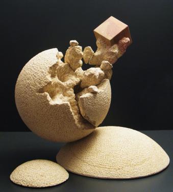 Eurêka pierre de Buxy H:50 cm