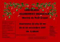 Marché de Noël d'Urepel , Brigitte Ryckenbusch Eskuz Holakatua