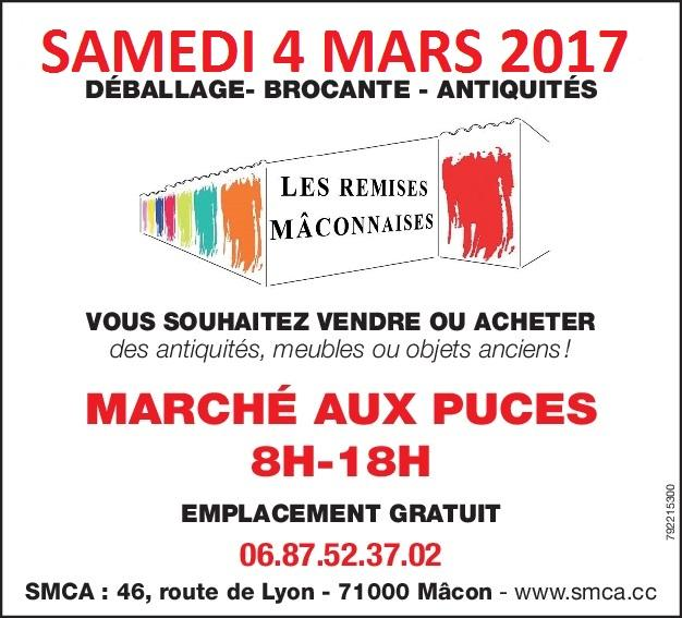 Actualité de Christophe et  Béatrice BEAUDET SMCA MARCHE AUX PUCES
