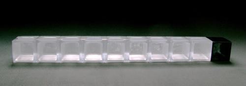 etapas 2 pâte de verre(71x6x6cm)