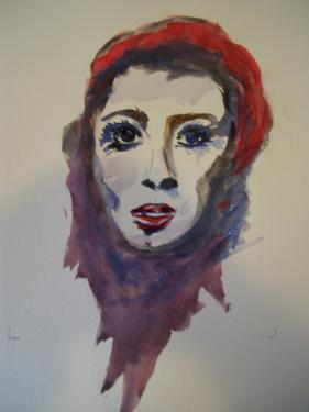 Le regard, II. aquarelle