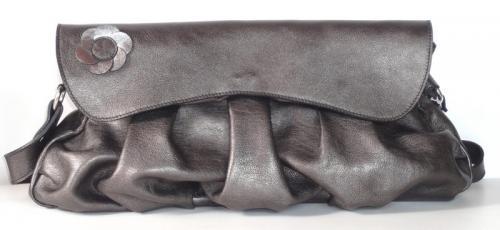 sac Cannelle en cuir de vachette et intérieur agneau