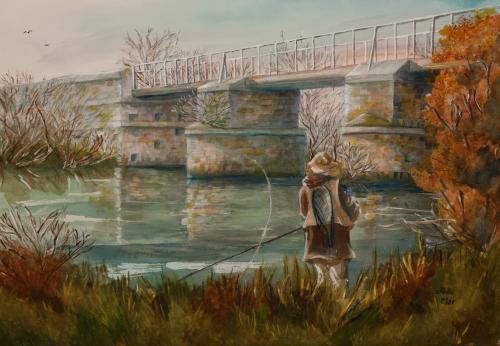 aquarelle sur papier Arches 54x70