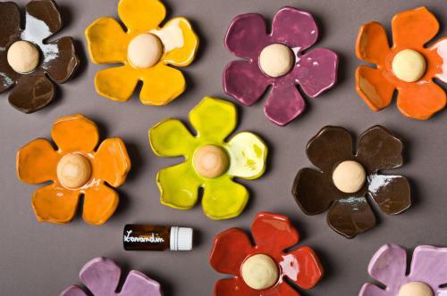 Fleurs diffuseurs de senteurs