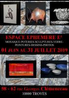 Actualité de   Talents d'Art Espace éphémère E2