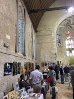 EXPO CHAPELLE ST JACQUES VENDOME , NICOLE BOURGAIT CONCEPT VEGETAL