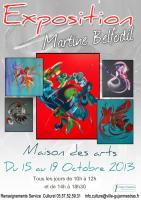 Exposition à la MAISON DES ARTS - Martine BELFODIL , BELFODIL Martine