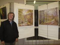Salon du CESAF-ARTS-PASSION à VILLENEUVE LE ROI , EVRARD CLAUDE