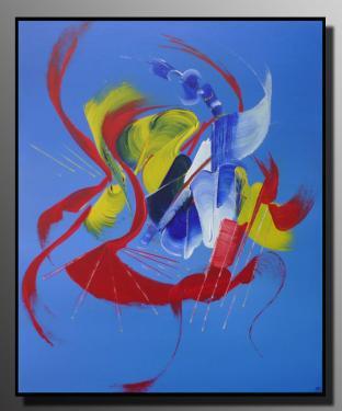 FLEUR DE TOILE Taille : 50X61 Peinture abstraite   Acrylique au couteau/pinceau Toile sur ch�ssis bois Cotation Drouot Site officiel : http://www.mapeinturesurtoile.com Prix : me contacter