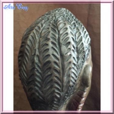 cheveux sculpture Elikya